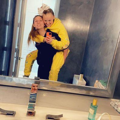JoJo Siwa shared a sweet tribute to her new girlfriend Kylie.