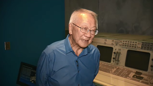 Bill Moon was an engineer in the Mission Control room when Apollo 11 landed on the moon 50 years ago.