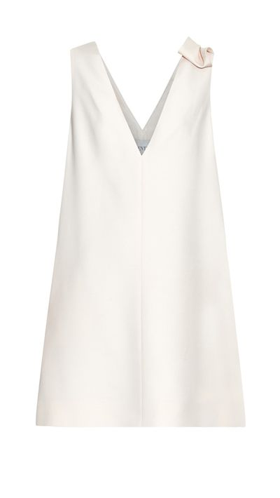 "<p><a href=""http://www.matchesfashion.com/au/products/Valentino-V-neck-wool-and-silk-blend-dress-1019459#"" target=""_blank"">Dress, $2281, Valentino at matchesfashion.com</a></p>"
