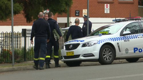 The woman died at the scene after being found 'seriously injured'. (9NEWS)