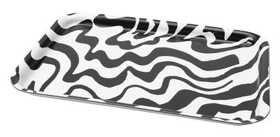 "SPRIDD black and white tray, $3.99, <a href=""http://www.ikea.com/ms/en_AU/ikea-collections/spridd/index.html?icid=itl%7Cau%7Cspring2017%7C201609290319121043_6"" target=""_blank"">IKEA</a>"