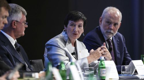 Chief Executive, Business Council of Australia Jenniger Westacott at the Financial Review Business Summit held at the Hilton Hotel in Sydney on March 11, 2020.