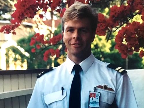 Mr Sangiuetti was a Qantas pilot for 21 years.