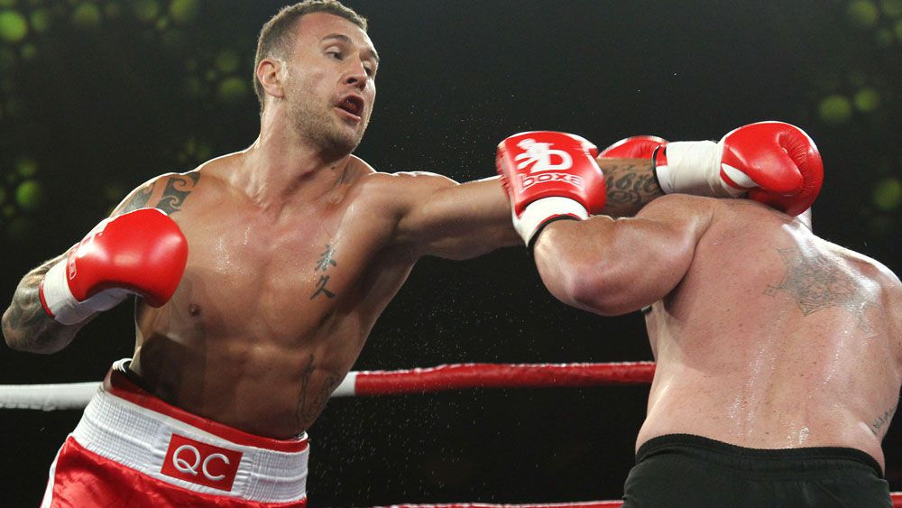 Quade Cooper will return to the boxing ring. (AAP)