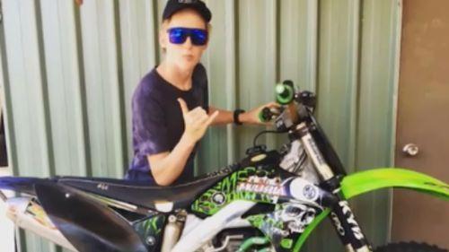 Xavier Lengyel, 16, died at the crash scene. (9NEWS)