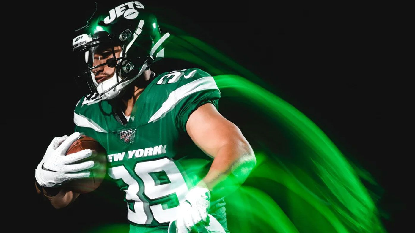 Valentine Holmes scores TD with  'big time catch' at New York Jets training camp