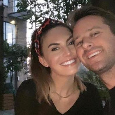Armie Hammer and Elizabeth Chambers.