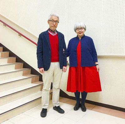 Japanese retirees Bon and Pon