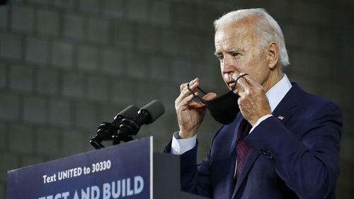Joe Biden has run a socially distant presidential campaign from his home in Delaware.