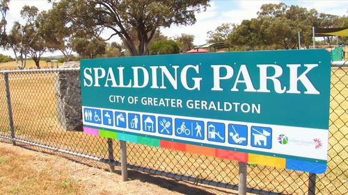 The tragic death occurred in Geraldton, about 450km north of Perth.