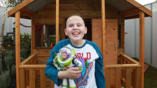 Tyler has already fought two cancer battles in his 15 years, and now faces another. (Facebook)
