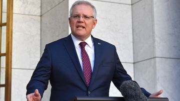Prime Minister Scott Morrison told people not to attend Black Lives Matter protests this weekend over coronavirus fears.