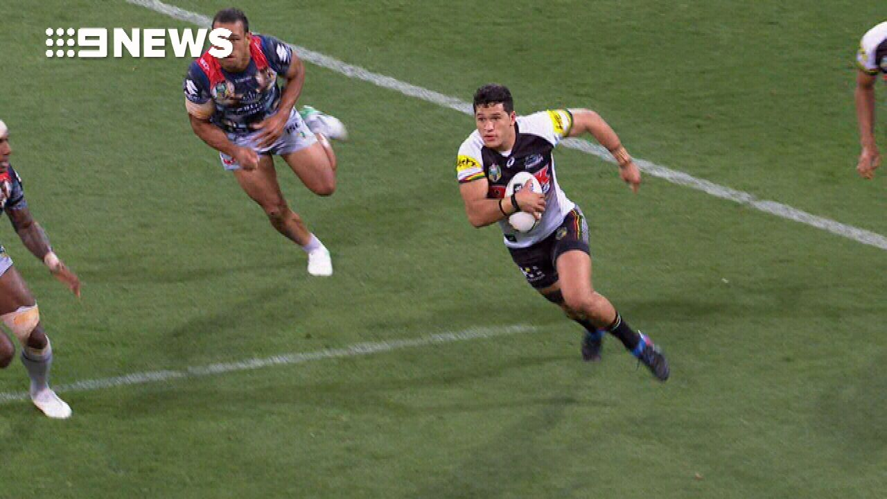 Dallin Watene-Zelezniak attacked at junior NRL game