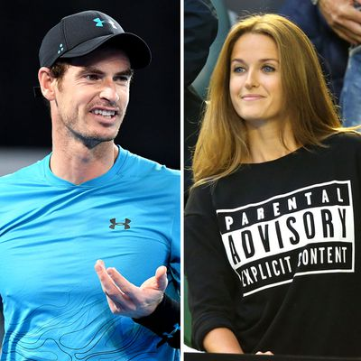 <strong>Andy Murray and Kim Murray </strong>