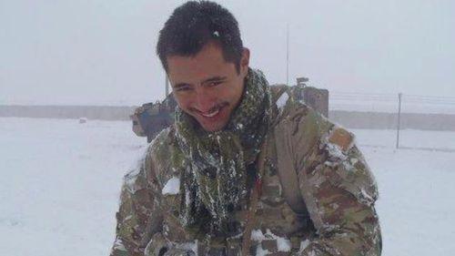 Mr Hodges is an Afghanistan veteran. (Facebook)