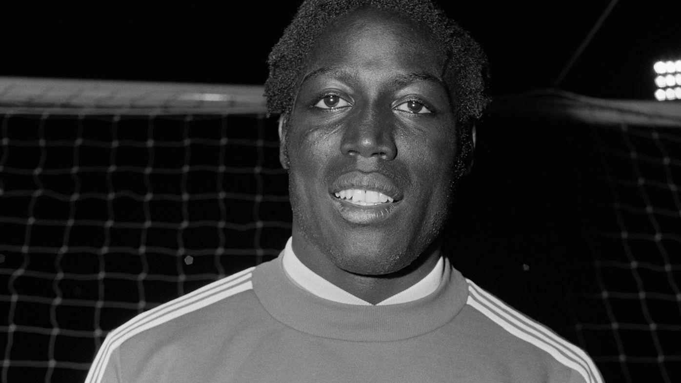 Former French football Jean-Pierre Adams.