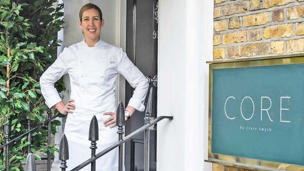 Clare Smyth of Core in London's Notting Hill / Food Story Media Ltd.