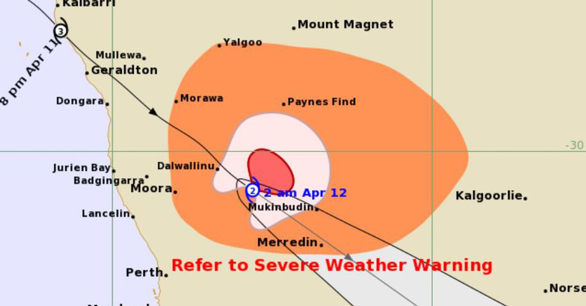 More than 20,000 without power as Cyclone Seroja lashes WA