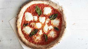 Stefano Manfredi's Margherita pizza