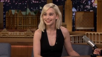 Emilia Clarke missed her own movie screening to watch the Royal Wedding
