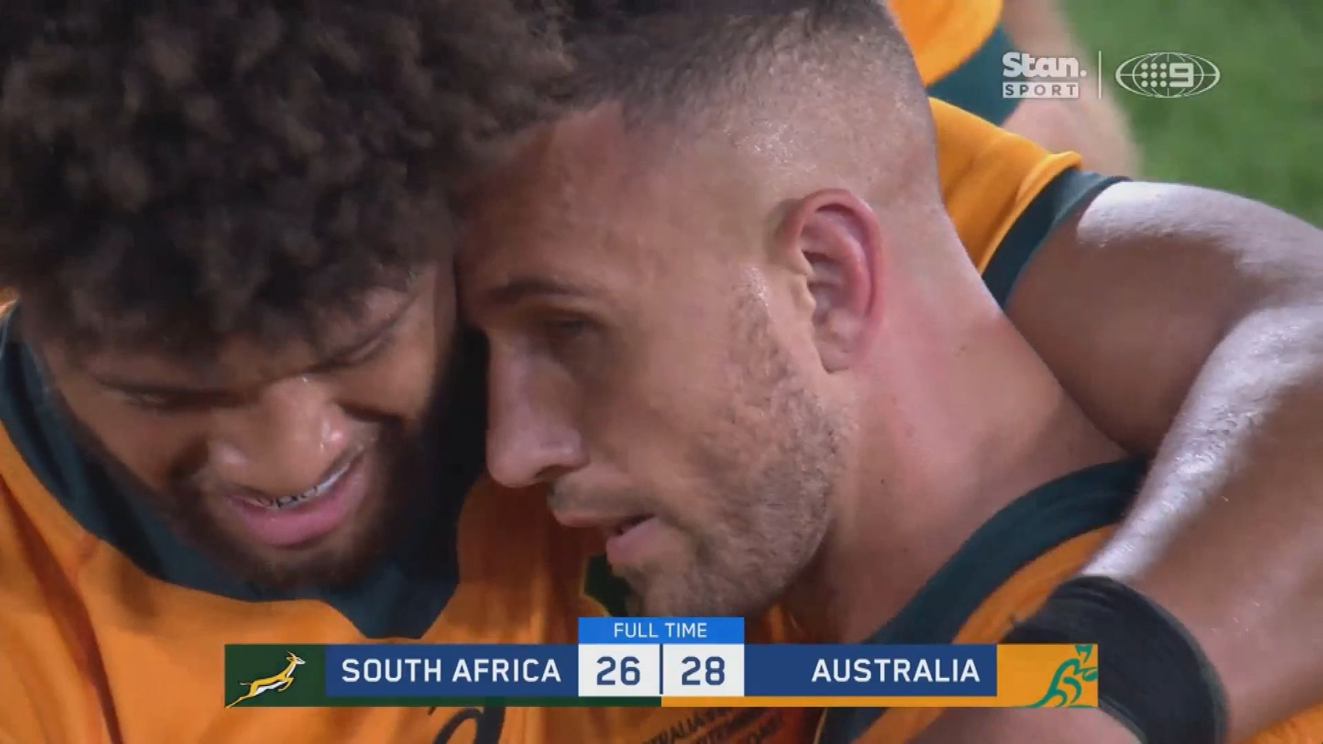Rugby Championship: Nic White returns at halfback in Wallabies team to play Springboks