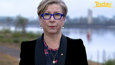 Unvaccinated healthcare workers are putting Australians in harms way, Jane Halton said.
