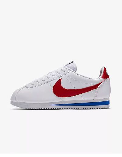 "Run, don't walk, to the corner office.<br> <br> <a href=""https://www.nike.com/au/t/classic-cortez-shoe-olTgPxjB/807471-103"" target=""_blank"">Nike Classic Cortez, $115</a>"