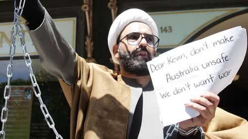 Man Haron Monis was shot dead after his siege in Martin Place. (AAP)