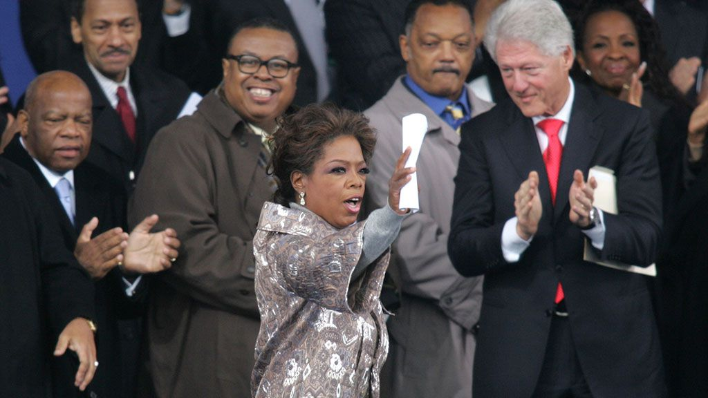 Bill Clinton rape accuser calls out Oprah Winfrey's 'hypocritical' Golden Globes speech