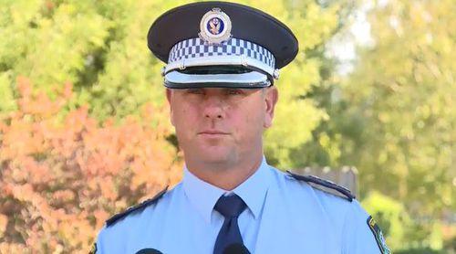 Inspector Robert Vergano spoke to reporters this morning. (9NEWS)