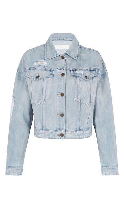12. A denim jacket