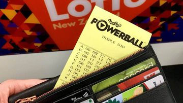 A Lotto player from Morrinsville drove around for a month with his winning ticket in his car's glovebox.
