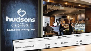Hudsons Coffee shops are owned by Emirates Retail Group, which has admitted to underpaying some of its workers.