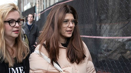 Oscar-winner Marisa Tomei is among a number of female actresses who attended today's hearing.
