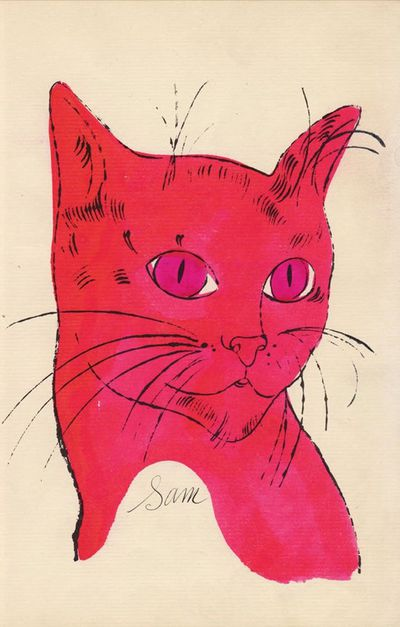 25 Cats Name Sam and One Blue Pussy, Andy Warhol (1954)
