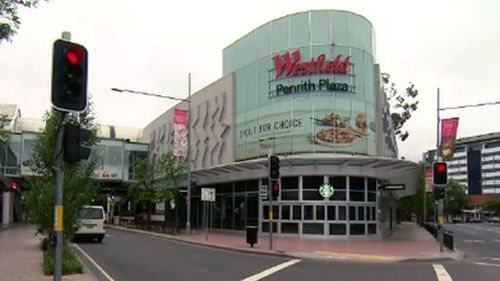 Police allege Mr Snell recorded up the skirts of unaware women at Penrith Westfield.