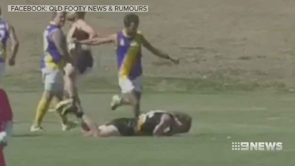 Queensland player charged by police over alleged kick to the head
