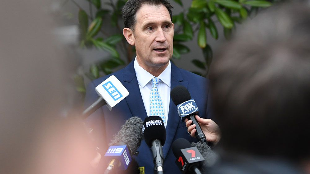 Cricket Australia boss James Sutherland says governing body open to arbitration