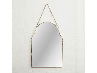 Audre Arch Brass Mirror — The Block Shop