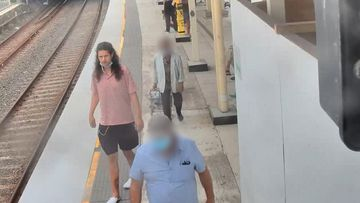 Police have released CCTV images as inquiries continue into the alleged assault of a woman at a train station in the Sydney CBD earlier this year.