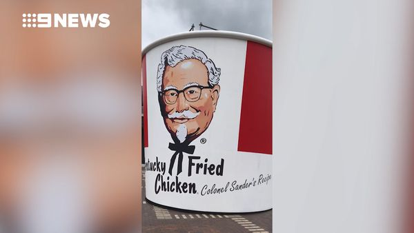 KFC celebrates 50th anniversary with giant bucket