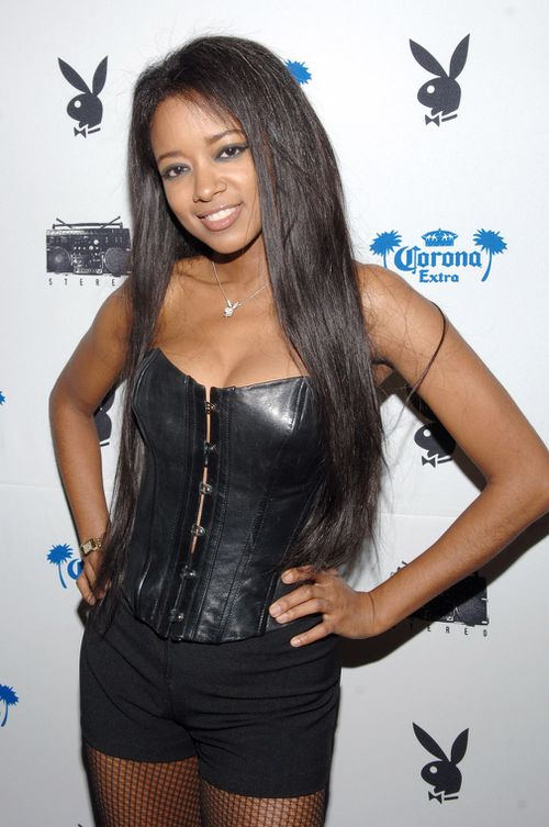 Playboy Playmate Stephanie Adams attends a Playboy Party in 2006. Picture: Getty