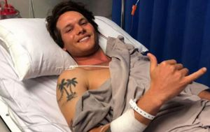 WA shark attack survivor thanks his rescuers after undergoing emergency surgery