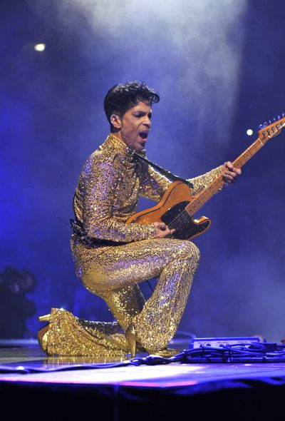 Prince wore the sequinned jumpsuit long before Taylor Swift during his 'Welcome 2 America' tour at Madison Square Garden in 2011.