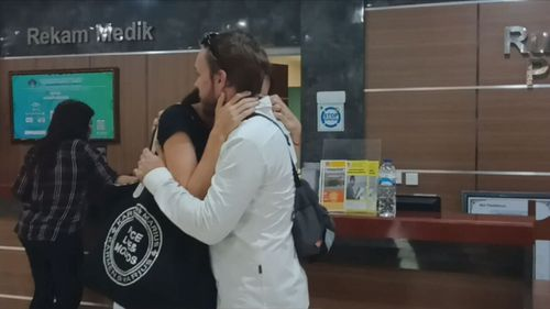 A free Josh Baker checked into the facility today. (9NEWS)