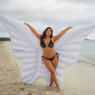 "<p>In her latest bid to be the first curvy model on the runway for <a href=""http://style.nine.com.au/2016/12/01/07/46/victorias-secret-2016-paris-gigi-bella-adriana-kendall"" target=""_blank"" draggable=""false"">Victoria's Secret</a>, Ashley Graham has donned wings in a photograph on her Instagram post while wearing a skimpy bikini from Swimsuits For All.</p> <p>Everyone with an eye for a pearl-encrusted g-string knows that angel wings are the territory of Sara Sampaio, Josephine Skriver, Candice Swanepoel and the other Victoria's Secret top strutters. Graham has made no secret of her desire to join the exclusive gang.</p> <p>""Victoria&rsquo;s Secret, call me,"" Graham said on <em>Watch What Happens Live with Andy Cohen!</em> in June. ""I will walk your runway. I will wear those wings, honey. And I will wear it with confidence! Right, wouldn&rsquo;t you say yes?""</p> <p>This follows Graham's social media post after last year's Victoria's Secret show in Paris of a fan illustration with her wearing wings.</p> <p>So we're guessing that this recent angelic image is just another installment in Graham's campaign to expand notions of beauty in modelling. </p> <p>Take a look at her recent campaign efforts and vote for Ashley Graham.</p> <p>&nbsp;</p>"