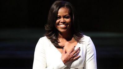 Michelle Obama has sent her congratulations.
