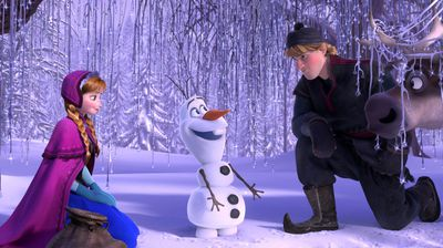 <p><b>9.</b> Frozen. (AAP)</p><p>The Disney 3D computer-animated film won fans around the globe with its official song 'Let It Go' even nabbing an Oscar.</p><p> Inspired by the Hans Christian Anderson fairy-tale <i>The Snow Queen</i>, it tells the story of a fearless princess who sets off on an epic journey to find her estranged sister, whose magic powers trapped their kingdom in an eternal winter. </p>