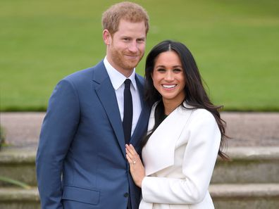 Prince Harry and Meghan Markle announce engagement, November 2017