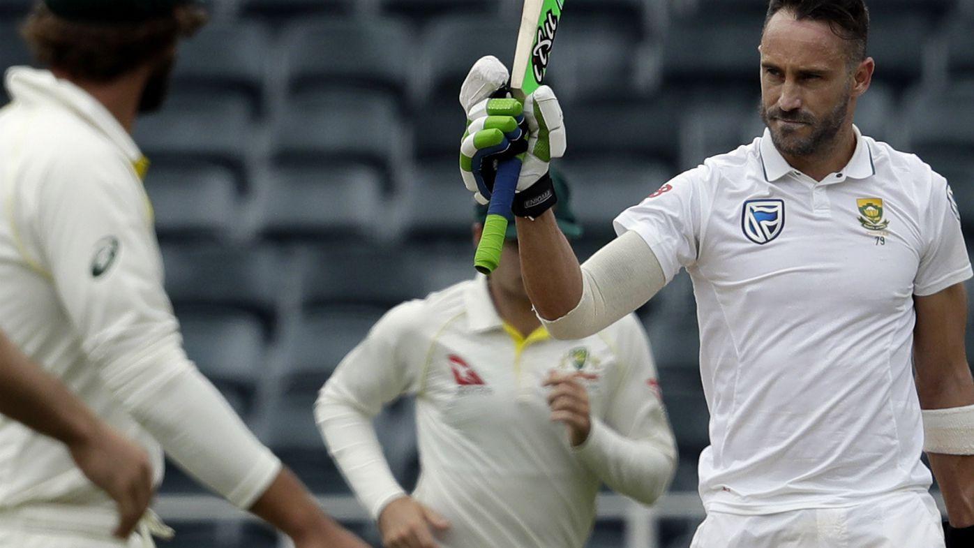 Du Plessis celebrates his century